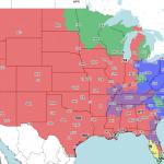 Steelers vs Browns tv map