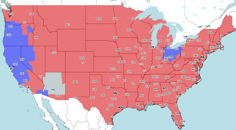 steelers vs colts tv game map
