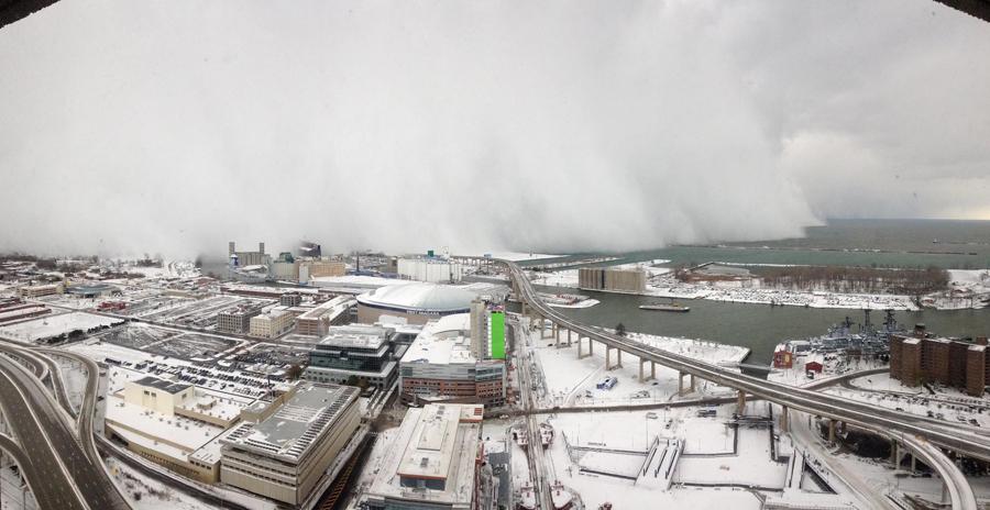 Wall Of Snow Hits Buffalo