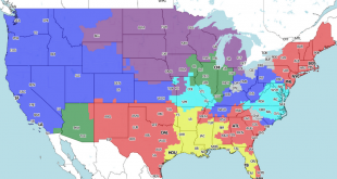 Steelers TV Map
